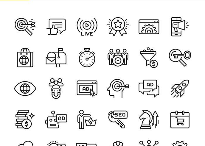 Icons: SEO & Marketing
