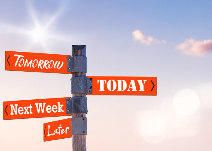 Heute - Morgen - Nächste Woche - Später / Today - Tomorrow - Next Week - Later