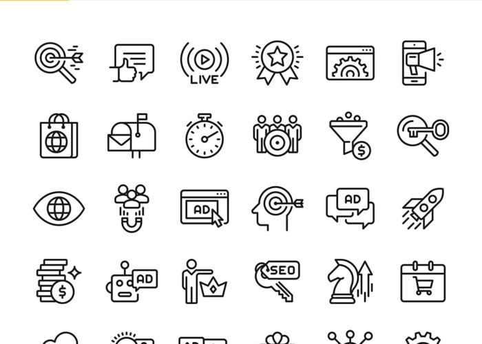 Icons: SEO & Marketing